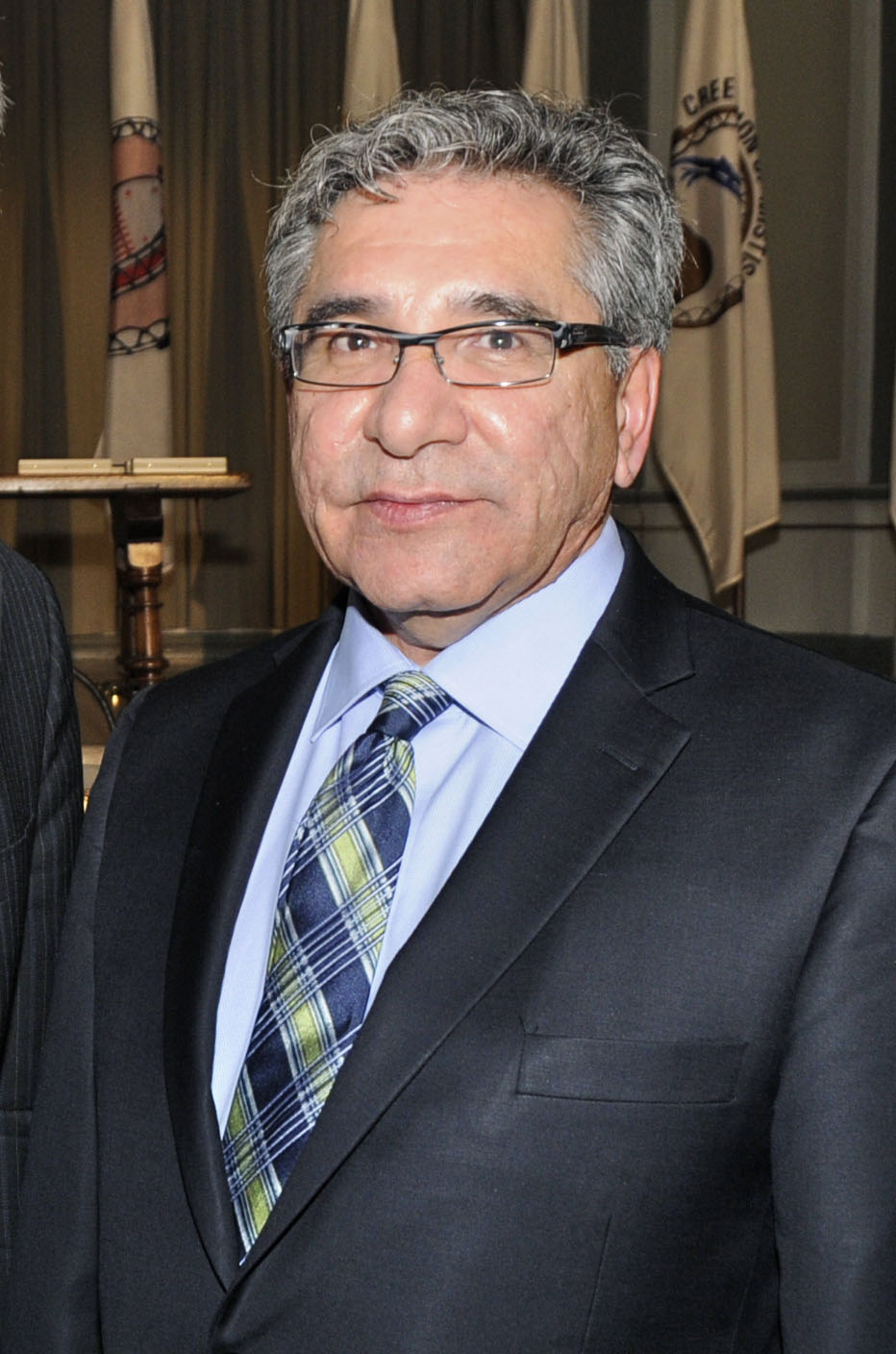 Dr. Abel Bosum was elected in 2017